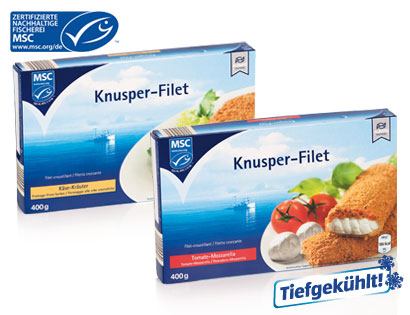 MSC Knusperfilet Käse-Kräuter, Januar 2014