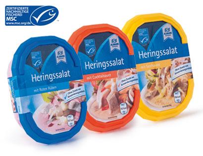 MSC Heringssalat mit Senfsauce, Januar 2014