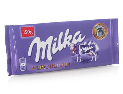 Milka Alpenmilch, Februar 2014