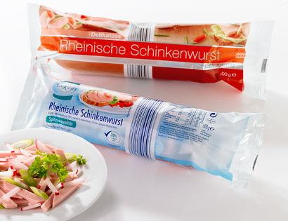 Schinkenwurst-Sortiment, Dezember 2013