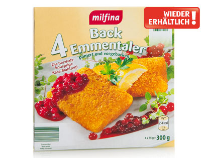 Back-Emmentaler  45 % F.i.T., Februar 2014
