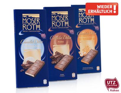 Chocolat Délice Edel-Vollmilchschokolade Praliné, Februar 2014