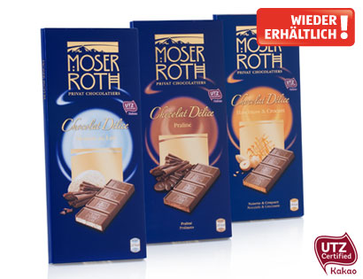 Chocolat Délice Edel-Vollmilchschokolade Haselnuss & Crocan, Februar 2014