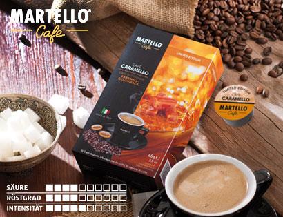 Café-Kapseln ''Caramello'', Februar 2014