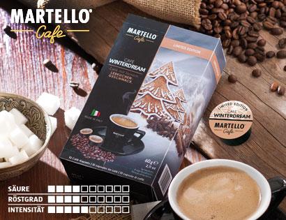 Café-Kapseln ''Winterdream'', Februar 2014