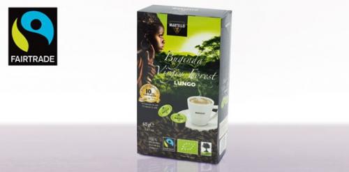 Bio-Cafè-Kapseln One Love Buginda Virgin Forest Espresso, Februar 2014