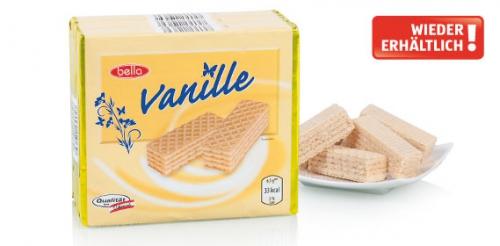 Waffelschnitten Vanille, 3x 65 g, Februar 2014