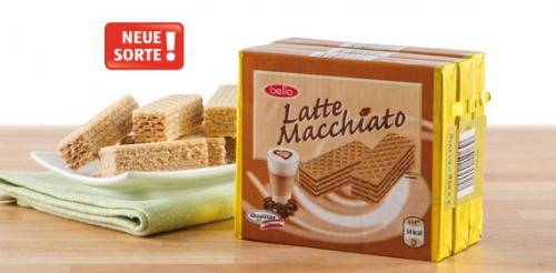 Waffelschnitten Latte Macchiato, 3x 65 g, Februar 2014