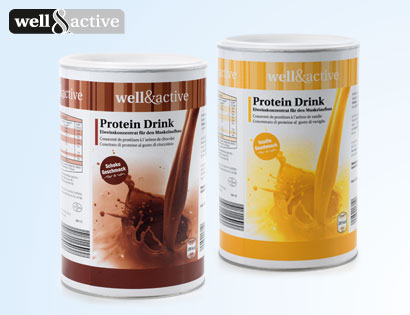 Protein Drink, Februar 2014
