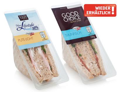 READY 2 EAT Frisches Sandwich, Thunfisch, Februar 2014