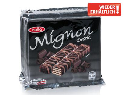 Mignonschnitten Zartbitter-Schokolade, 3 x 70 g, Februar 2014