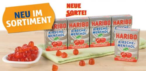Haribo Minis, Kirsche-Menthol, Februar 2014