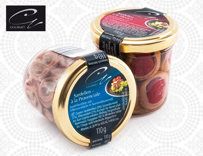Gourmet Sardellenspezialität, Februar 2014