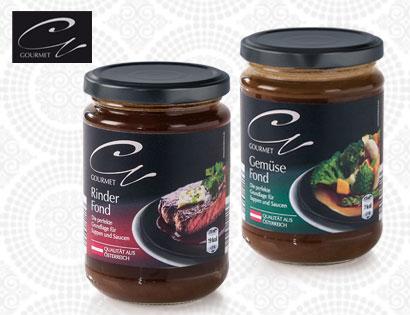 Gourmet Fond im Glas, Februar 2014