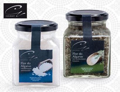 "Gourmet Meersalz ""Flor do Algarve"", mediterrane Kräuter, Februar 2014"