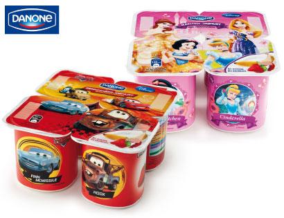 Danone Disney Kinderjoghurt, Aktion, Februar 2014