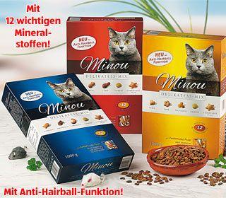 Katzenvollnahrung Delikatess-Mix, Oktober 2007