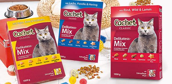 Katzenvollnahrung Delikatess-Mix, Januar 2011