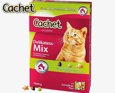 Katzenvollnahrung Delikatess-Mix, Oktober 2014