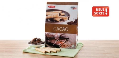 Waffelröllchen Cacao, 400g, M�rz 2014