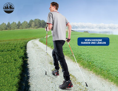 Nordic Walking-Stöcke, M�rz 2014