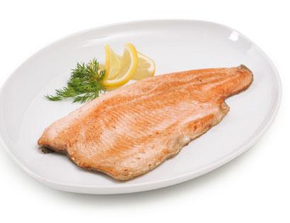 Bachforellen-Fisch-Filets, frisch, M�rz 2014