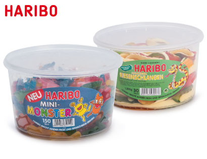 Haribo Mini-Monster, Megadose, M�rz 2014