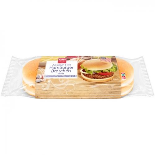REWE Beste Wahl Hamburger-Brötchen von Rewe