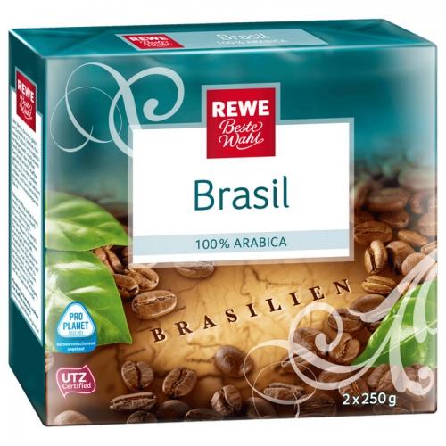 Kaffee Brasil gemahlen, Januar 2018