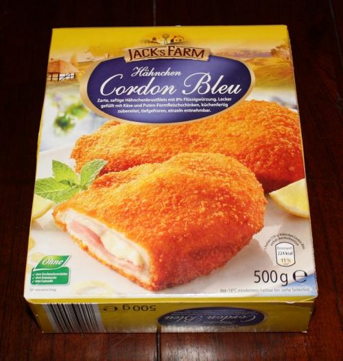 Hähnchen-Cordon-Bleu, Dezember 2012