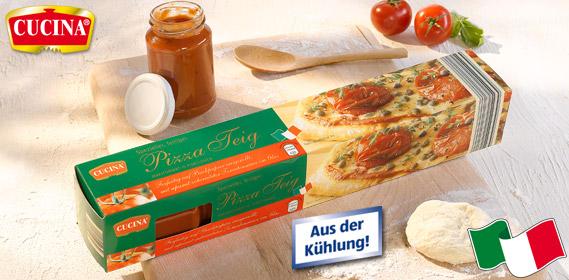 Pizzateig mit Tomatensauce, Dezember 2011