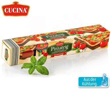Pizzateig mit Tomatensauce, Januar 2015