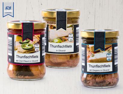 Thunfischfilets Prämium im Glas, M�rz 2014
