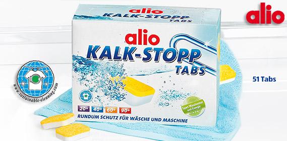 Kalk-Stopp-Tabs, Januar 2012