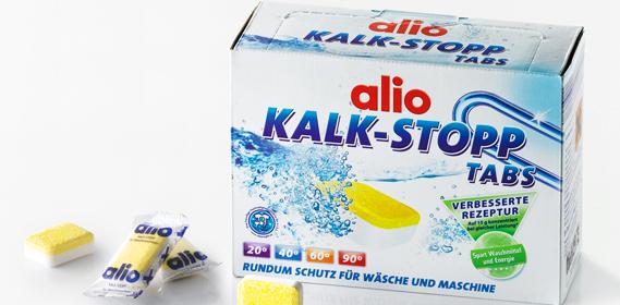 Kalk-Stopp-Tabs, M�rz 2013