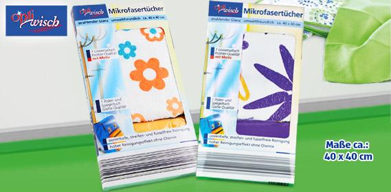 Mikrofasertücher, Februar 2012