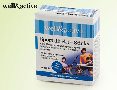 Sport direkt-Sticks, 20 x 2,5 g, M�rz 2014