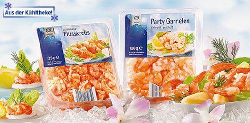 Party Garnelen (Shrimps), Oktober 2007