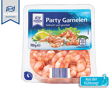 Party Garnelen (Shrimps), November 2014