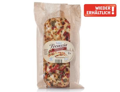 Focaccia Paprika & Olive, April 2014