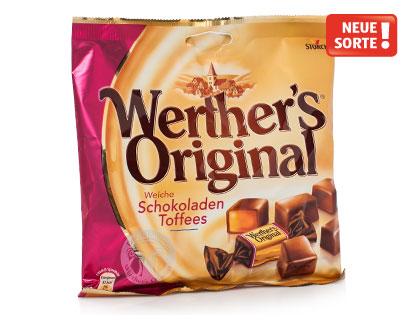 Werther's Original Weiche Schokoladen-Toffees, April 2014
