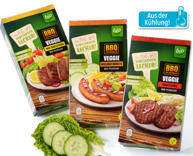 BIO Vegetarisches Grillsortiment, Juni 2014