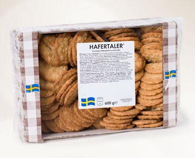 Schwedische Gebäckspezialität, Hafertaler von Hofer