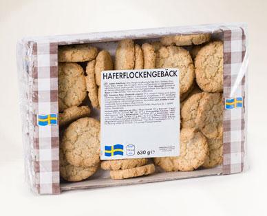 Schwedische Gebäckspezialität, Haferflockengebäck , Mai 2014