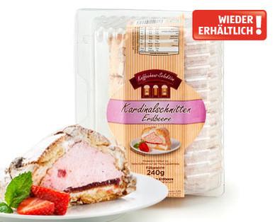 Frische Kuchenwelt, Kardinalschnitten Erdbeere, Mai 2014