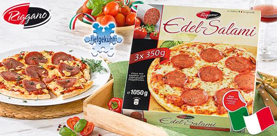 Edel-Salami-Pizza, 3x 350 g, M�rz 2013