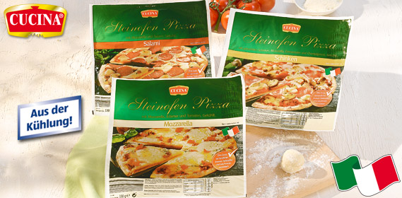 Steinofen Pizza, Dezember 2011