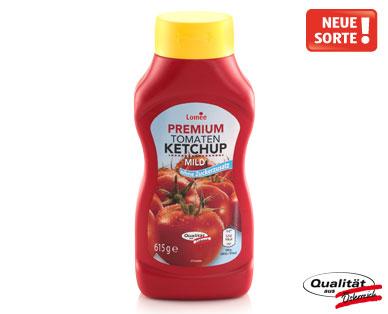Tomaten-Ketchup ohne Zuckerzusatz, Premium, Juni 2014