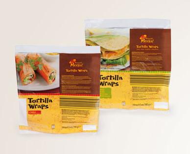 Tortilla Wraps , Juni 2014