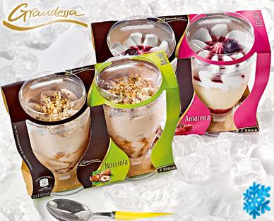 Italienisches Eisdessert, 2x 150 ml, Juni 2014